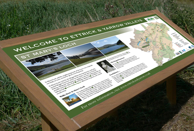 Ettrick & Yarrow Valleys - Interpretation boards